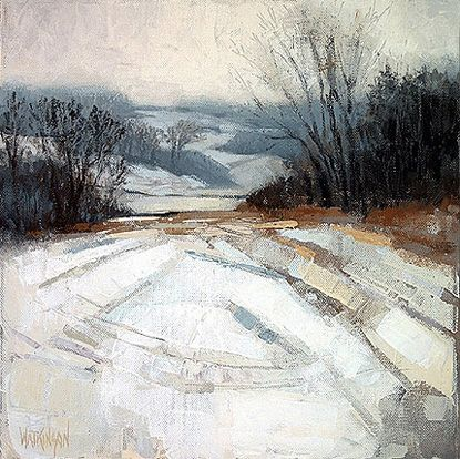 snow no. 3 ~ medium unknown ~ by brent watkinson