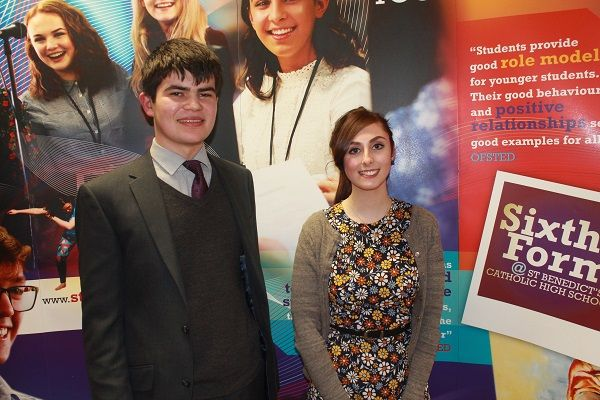 Former St Benedict's students return for Celebration of Achievement Evening http://www.cumbriacrack.com/wp-content/uploads/2017/01/Guest-Speakers-and-former-students-Daniel-Nixon-and-Ellie-Doran.jpg Gifted former students from St Benedict's Catholic High School have returned for a special evening to celebrate their A-Level successes and time spent at the Sixth Form    http://www.cumbriacrack.com/2017/01/09/former-st-benedicts-students-return-celebration-achievement-evenin