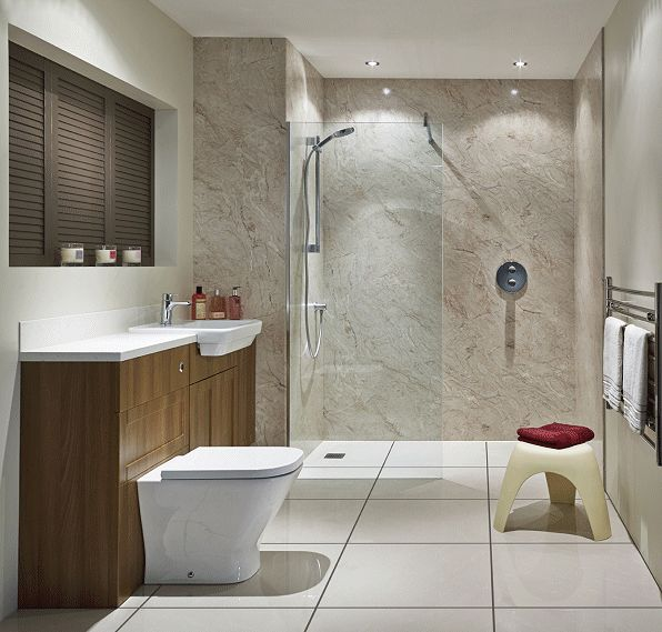 Tiling Panels For Bathrooms Part - 48: Bushboard Launches Premium Nuance Bathroom Wall Panels - Bathroom Review