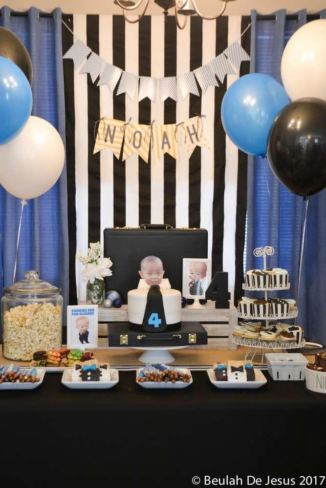 Boss Baby Birthday Birthday Party Ideas Photo 3 of 17