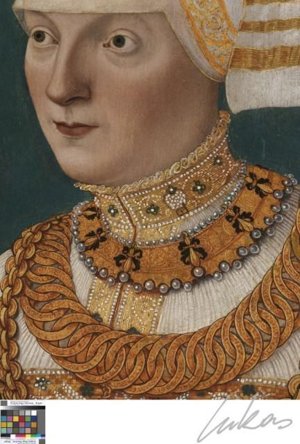 Conrad Faber,  portrait of a woman; early-mid 16th Cent German (contemporaneous with Lucas Cranach the Elder)
