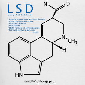 lsd molecule | LSD Molecule | Malditos Cyborgs