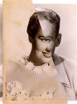John Stezaker collage........disquieting art collages perhaps unknowingly addresses the dysphoria of gender confusion..............