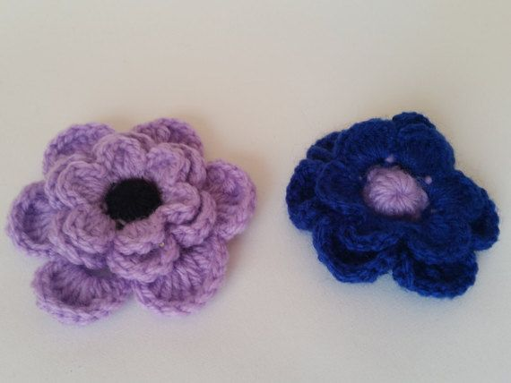 15% OFF this week at BumyCraft! Apply code BUMYCRAFTSEPT during checkout. Accesorise with style https://www.etsy.com/uk/listing/247086747/handmade-crochet-brooches-purple-and
