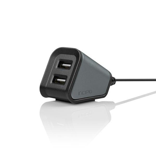 Desktop Charging Station-Graphite Dual USB Desktop Charger