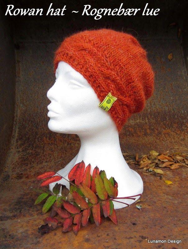 My Rowan Hat, pattern will be released soon.