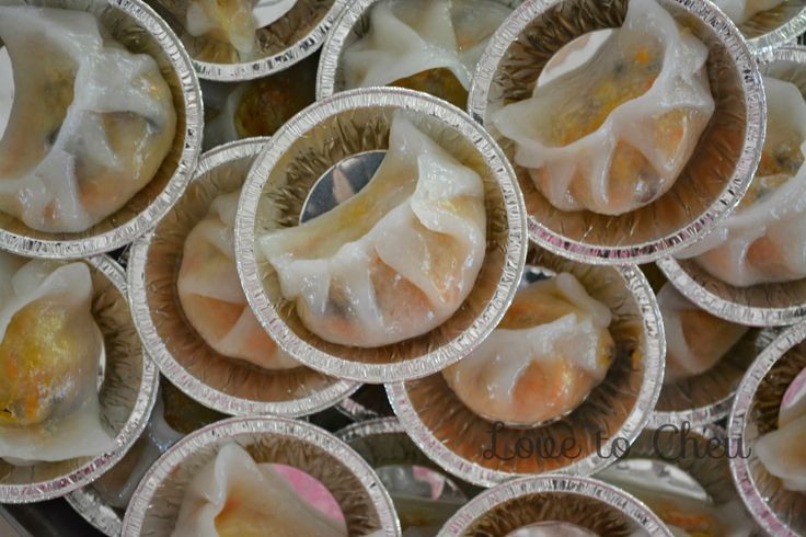 Love to Cheu: Chai Kuih aka Steamed Vegetable Dumpling