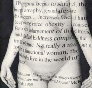 performative body: