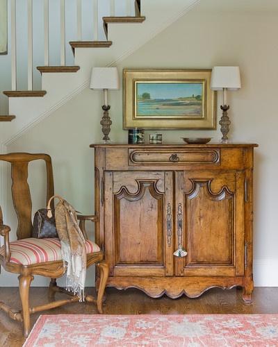 Swampscott House - traditional - entry - boston - Anita Clark Design