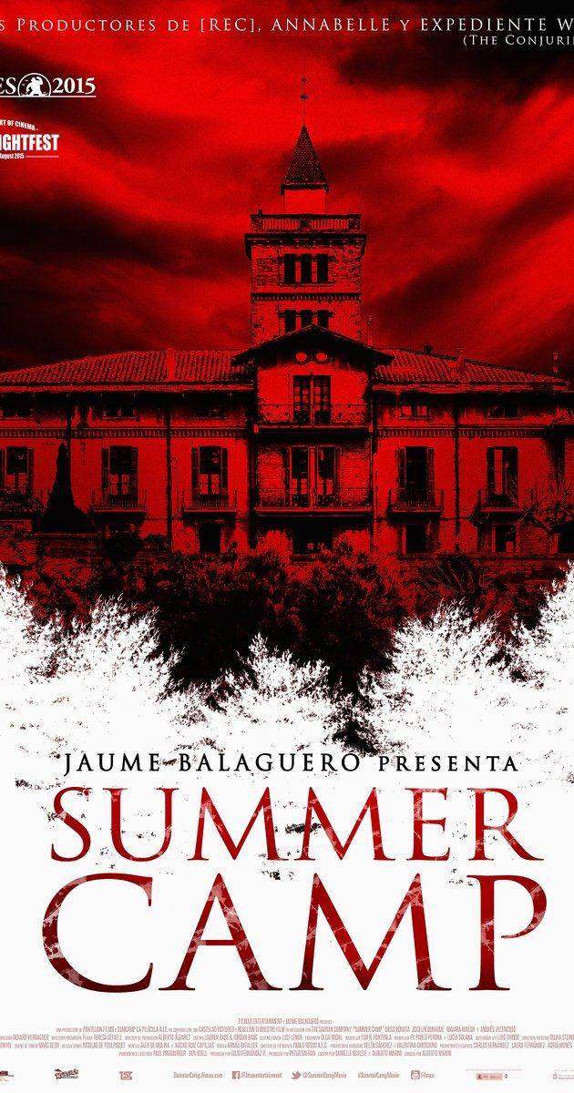 Directed by Alberto Marini.  With Diego Boneta, Jocelin Donahue, Maiara Walsh, Andrés Velencoso. Four American counselors at a European summer camp must deal with the outbreak of a rage-inducing plague among the children they are supervising.