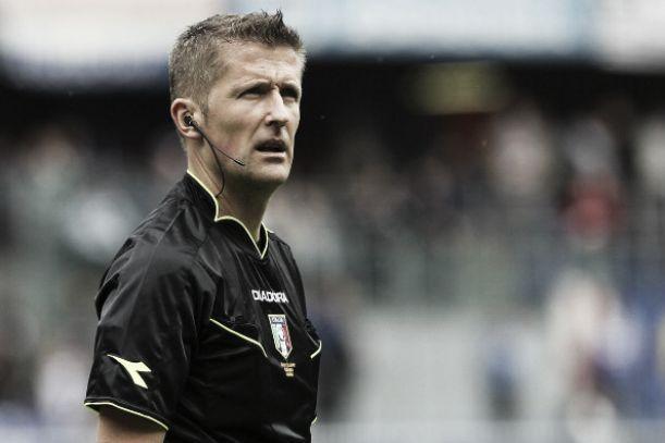 El colegiado italiano ha sido designado por UEFA para arbitrar el choque ante el BATE Borisov del miércoles en San Mamés.