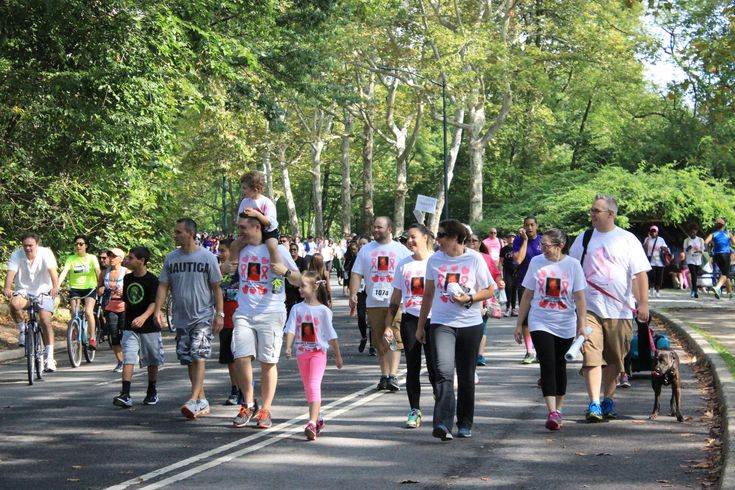 #cancer walk #causes #central park #new york #people #walking