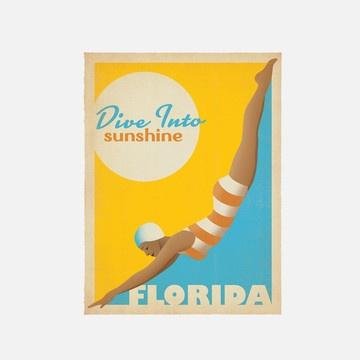 Diver Florida Ad - by Joel Anderson