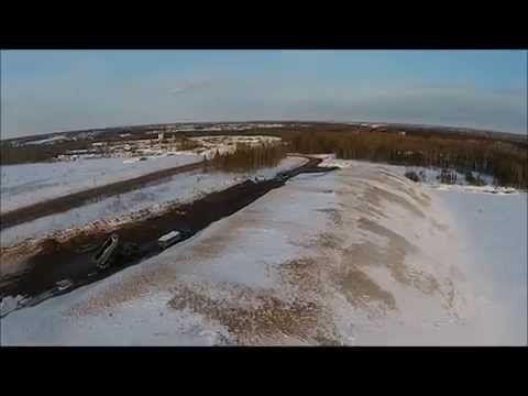 Moncton's massive snow dump, as seen from the sky | CTV News