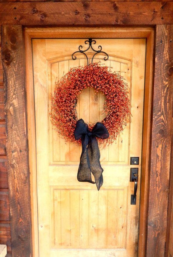 best 25 primitive wreath ideas on pinterest primitive. Black Bedroom Furniture Sets. Home Design Ideas