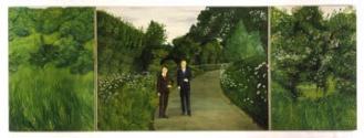 The Paintings (with us in the nature), Gilbert & George, 1971.  Extrait du texte de Marine Drouin sur facebook.com/ateliereffervescent.