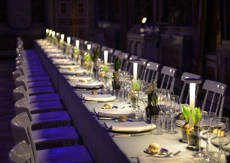 Evento Palazzo Serbelloni - lampada TETATET di davide groppi