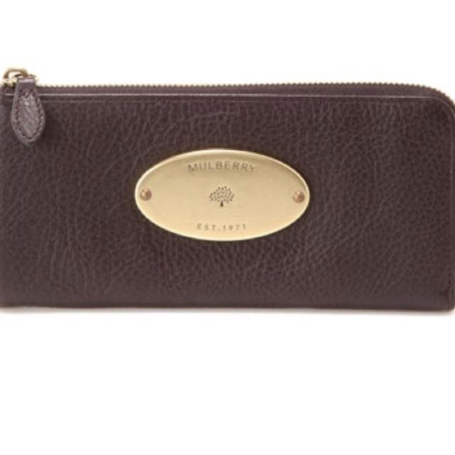 Mulberry zip around wallet
