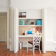 Office Home Ideas Best 25 Closet Turned Office Ideas On Pinterest Desk And Computer Nook Home