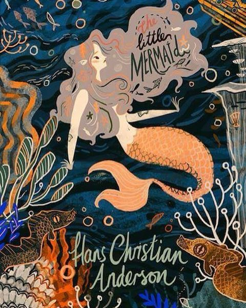 """Book cover for """"The Little Mermaid"""" by Karl James Mountford"""