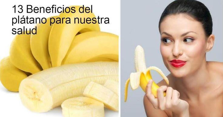 13 beneficios del plátano para la salud que (probablemente) no conocías