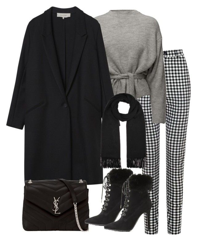 """Untitled #4939"" by theeuropeancloset on Polyvore featuring Gérard Darel, Yves Saint Laurent, Charlotte Russe and Acne Studios"