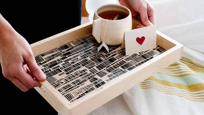 Love this tray. Must hit the Halifax Seaport Market and acquire one.