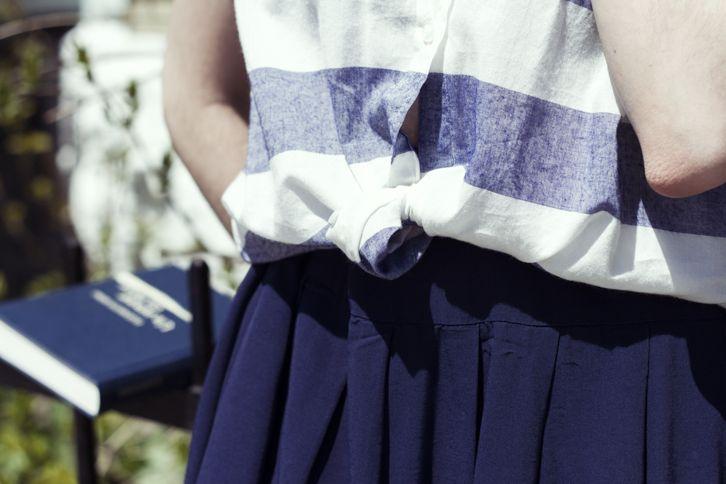 Blue Outfit | FASHION IS MY RELIGION | photo Alex C.D. photography | www.fashionismyreligion.ca
