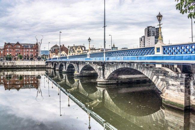 Belfast Waterfront and Lagan   © William Murphy/ Flickr