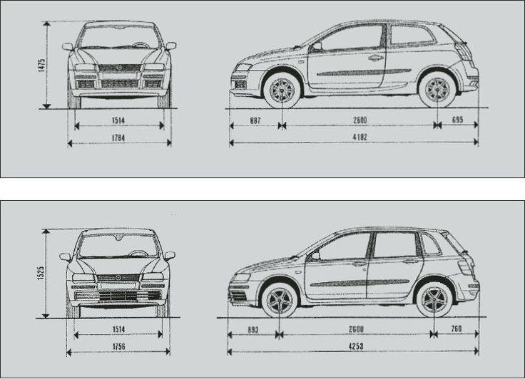Fiat Stilo 2001. - 2007. http://www.pmlautomobili.com/automobili/fiat/fiat_stilo.html