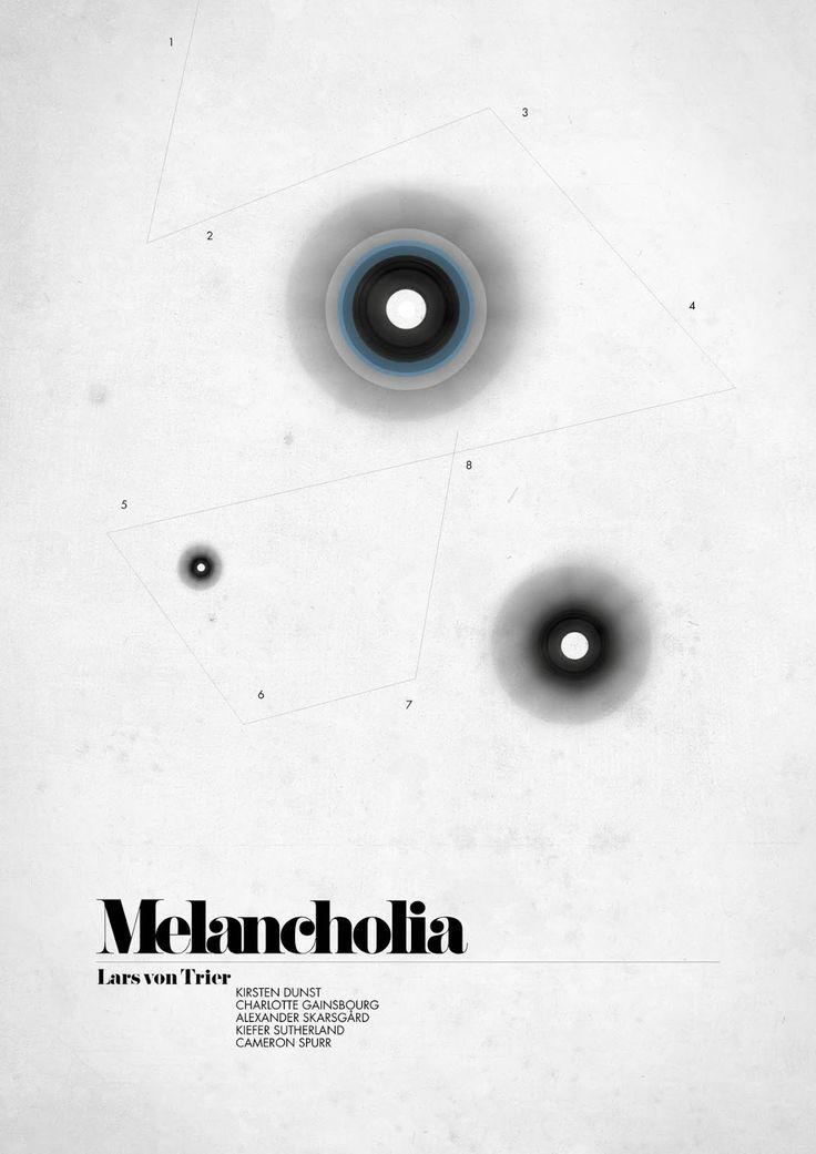 MELANCHOLIA - Swedish Fan Poster by Michaela Larsson