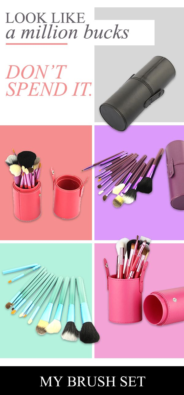 To look your best, you need the best tools. These high-quality brushes are made with the finest materials and come in a luxury case to keep them safe. Their ergonomic design means they?ll fit perfectly in your hands, ensuring flawless application every time. Try all the different styles you can think of without worrying about wear and tear. Get your set today in your favorite color.