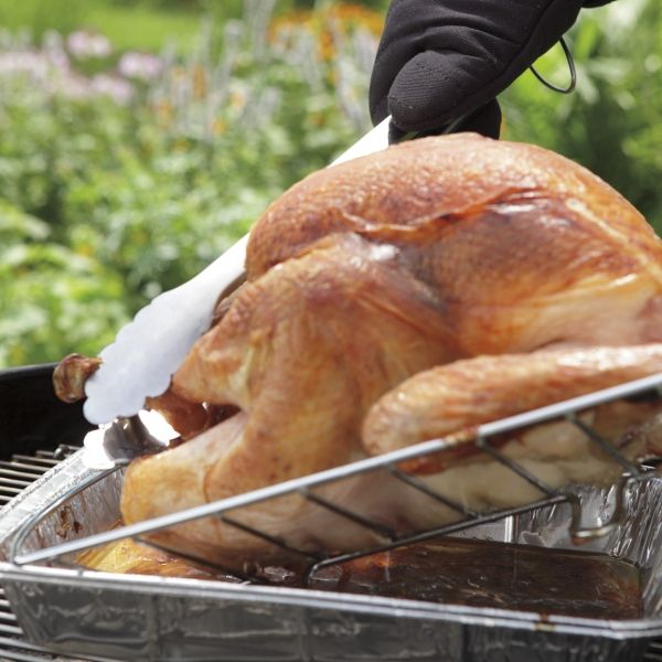 How to roast a whole turkey on the grill. | Grills & Outdoor Cooking ...