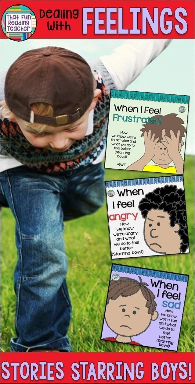 Feelings books - Teaching boys about expressing and managing emotions? Here are some color and black + white feelings stories they'll relate to! $ #teaching #feelings #books #stories #kids #emotions #socialskills #social #boys