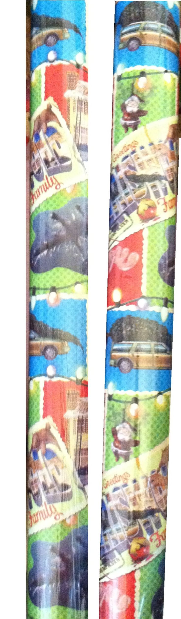 Griswold Christmas Party Ideas Part - 22: National Lampoonu0027s Christmas VACATION ~ Gift Wrap ~ 40 Sq. Ft. (1 Roll
