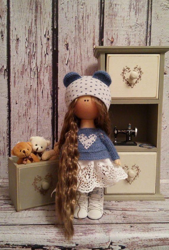 Tilda doll Cloth doll Art doll handmade by AnnKirillartPlace