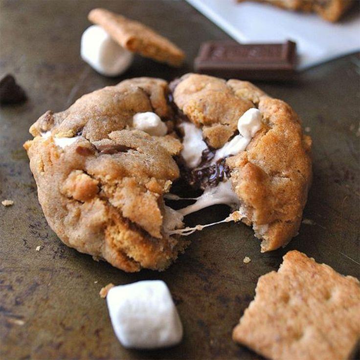 Les cookies chocolat et chamallow de A Cookie Named Desire