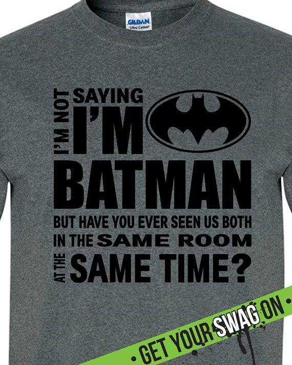 Extrêmement Best 25+ Batman t shirt ideas on Pinterest | T shirt batman  JH03