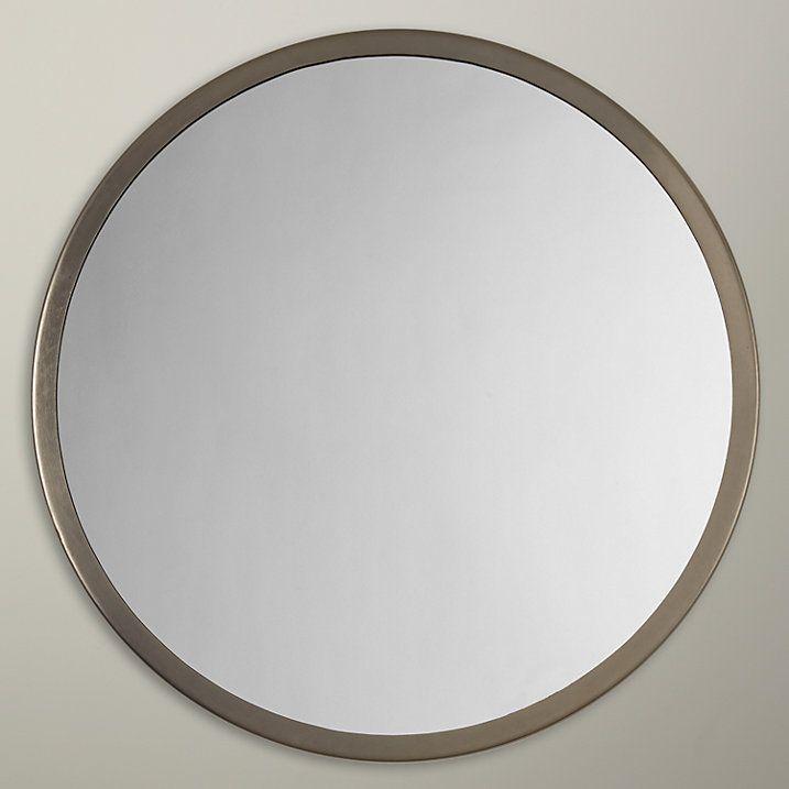 John Lewis Small Round Mirror Dia 46cm Gold Small Round Mirrors Round Mirrors Mirror