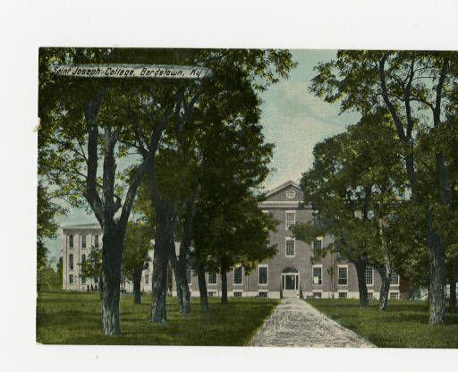 Saint Joseph College, Bardstown, Ky. :: Ronald Morgan Postcard Collection