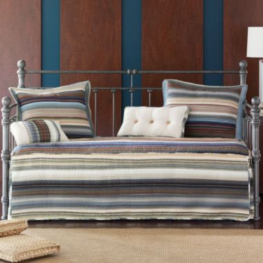 retro chic striped daybed cover found at jcpenney - Daybed Cover Sets