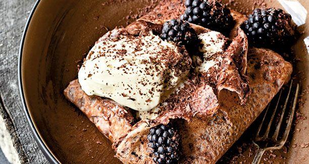 Opskrift: De bedste pandekager til dessert du kunne tænke dig - prøv dem som prikken over i'et på en velsmagende middag.