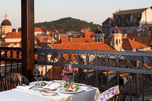 Ebből az 5 étteremből nyílik a legszebb kilátás Dubrovnikban.