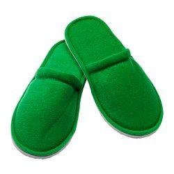 NJUTA Slippers, S/M, green - - - IKEA