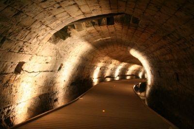 Templars' Tunnel, Acre (Akko) – Old Acre, Israel