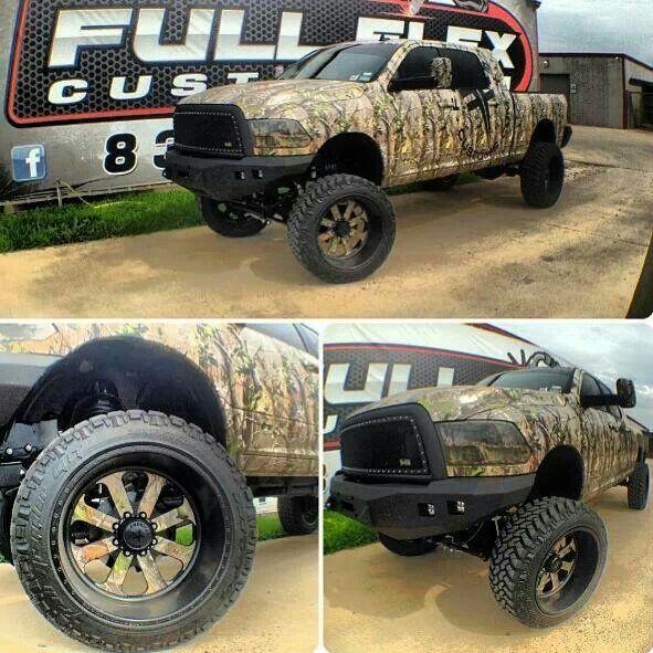 Camo truck and wheels mmm