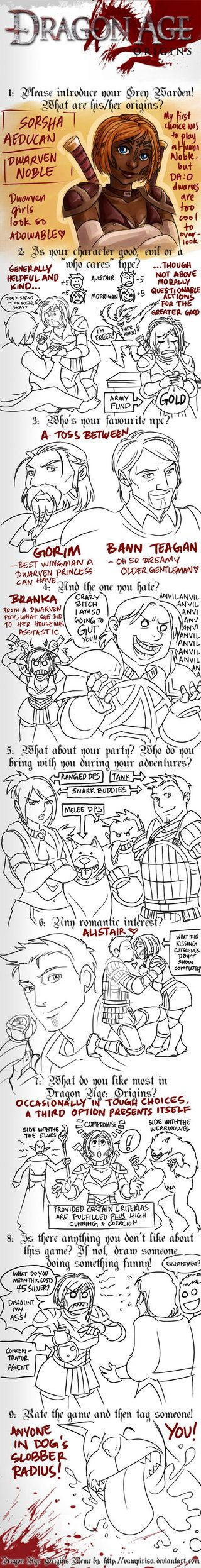 Dragon Age: Origins MeMe by aimo on deviantART