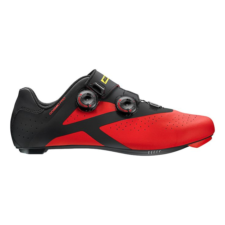 Chaussures Mavic Cosmic Pro noir rouge | deporvillage