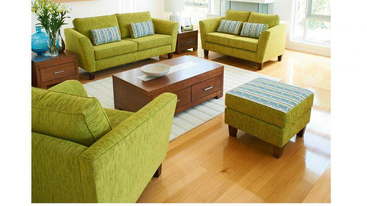 Tuross 3 Seater Fabric Sofa