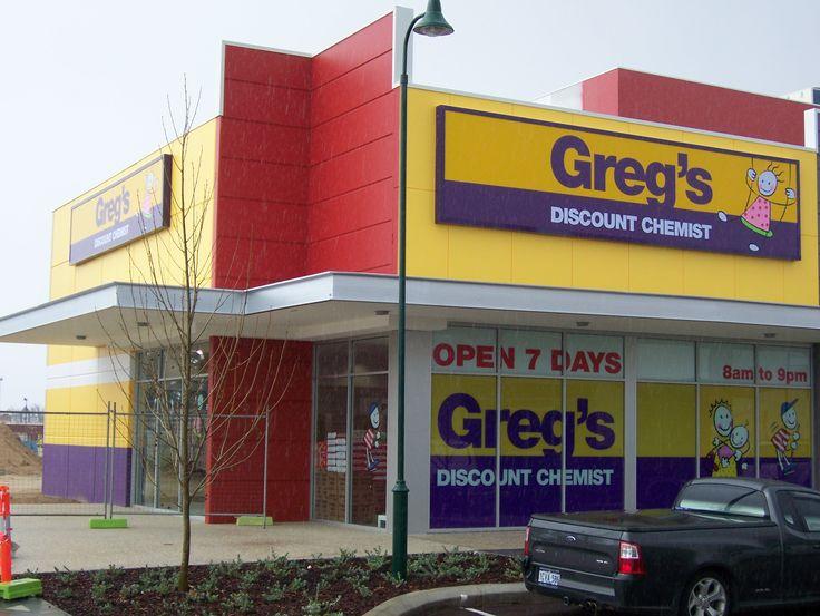 Pharmacy Design Australia - Greg's Chemist Rockingham. WA Value proposition Pharmacy Brand.